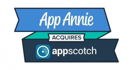 App Annie、マーケティングデータ提供のAppScotchを買収
