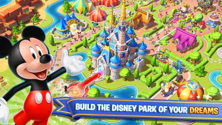 ゲームロフトとディズニー、スマホ向け新作タイトル「ディズニー:マジック キングダムズ」をリリース