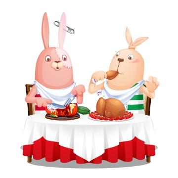 enishのレストラン経営ゲーム「ぼくのレストランⅡ」、「ウサビッチ」とのコラボを開始