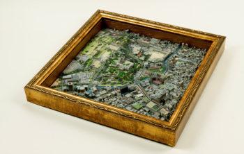 アイジェット、3Dプリンタで製作したリアルジオラマ 「3D Print Maps」に新エリアを追加 「熊本・熊本城周辺」販売の利益全額を被災地支援に