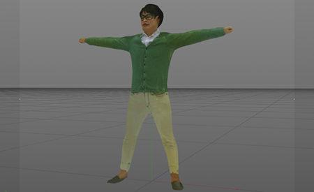 ワン・トゥー・テン・ホールディングス、1秒でスキャンし自動で人体3Dモデルを生成する高速スキャンシステム 「ANATOMe」を提供開始
