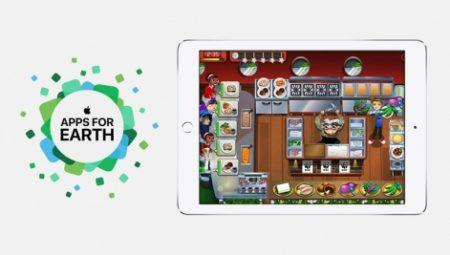 AppleがWWF&アースデイとタイアップ 4/22のアースデイに合わせて26アプリが賛同コラボを実施中