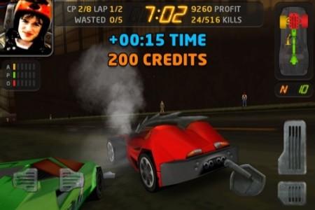 【やってみた】人を轢き殺すと高得点!鬼畜バカレース(?)ゲーム「Carmageddon」アプリ版