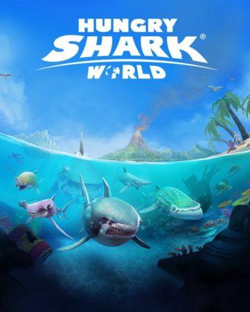 ユービーアイソフト、鮫なりきりアクションゲーム「ハングリーシャーク ワールド」の日本語版をリリース