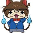 ジバニャン+江戸川コナンな「名探偵コニャン」が登場! 「妖怪ウォッチ」のスマホ向けパズルゲーム「妖怪ウォッチPuniPuni」が「名探偵コナン」とコラボ