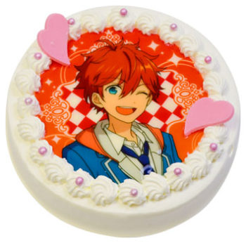 アニメイトカフェ、6/27よりスマホ向けアイドル育成ゲーム「あんさんぶるスターズ!」のキャラクターケーキの受注を開始