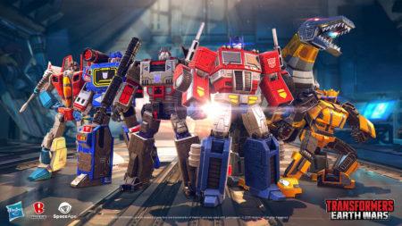 「トランスフォーマー」の新作スマホ向けストラテジーゲーム「トランスフォーマー:アースウォーズ」が世界市場でリリース 日本版配信は7月より
