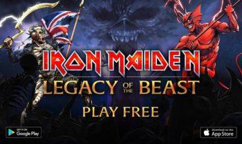 アイアン・メイデンの公式スマホゲーム「Iron Maiden:Legacy Of The Beast」をリリース
