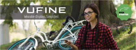米VUFINE、眼鏡装着型ウェアラブルディスプレイ「Vufine」を日本にて販売開始