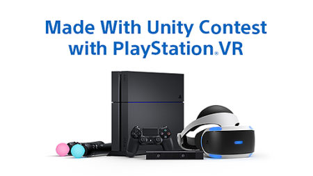 SIEJA、Unity製のPS VR向けコンテンツ企画を募集する「Made With Unity Contest with PlayStation VR」を実施