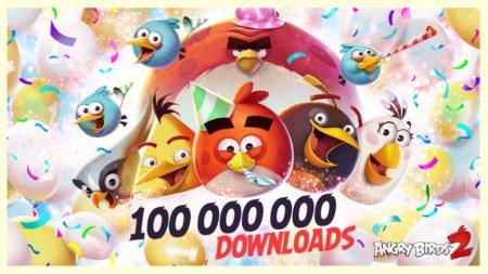 「Angry Birds」シリーズの正統続編「Angry Birds 2」が1億ダウンロードを突破