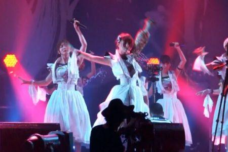 モノビットVR、アイドルグループ「アップアップガールズ(仮)」のステージリハーサルを360°撮影