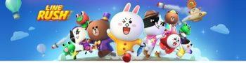 LINE、LINEキャラクターが駆け巡る新作ランゲーム「LINE RUSH !」をリリース