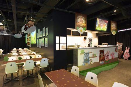 LINEのスマホ向けパズルゲーム「LINE ポコパン」、3周年を記念し原宿にポコパンカフェをオープン