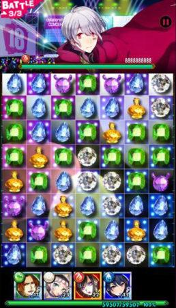 スマホ向けジュエルパズル「【18】 キミト ツナガル パズル」、「そらる&まふまふ」とのコラボを開始
