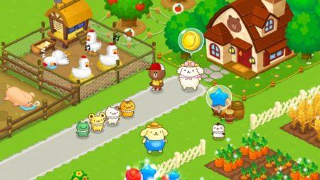LINEキャラの農場ゲーム「LINE ブラウンファーム」が初コラボ 農場仲間にサンリオの「ポムポムプリン」が登場