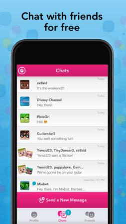 ディズニー、子供向けのスマホ向けメッセージングアプリ「Disney Mix」をリリース