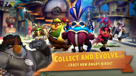 Rovio、モンストっぽいAngry Birdsのおはじきバトルゲーム「Angry Birds Evolution」のテスト配信を実施中