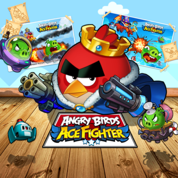 Rovio、「Angry Birds」の弾幕シューティングゲーム「Angry Birds: Ace Fighter」を東南アジアにてテスト配信