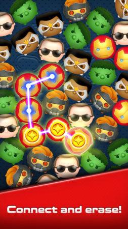ミクシィ、マーベルキャラのパズルゲーム「マーベル ツムツム」を150以上の国々でリリース