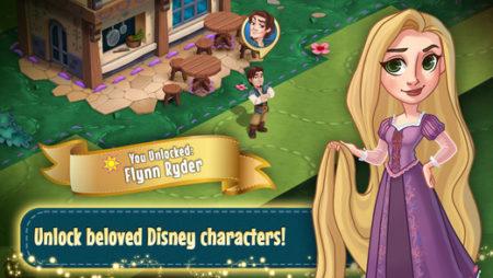 ディズニー、ディズニープリンセスのスマホ向け町作りゲーム「Disney Enchanted Tales」をリリース