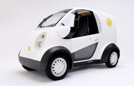 カブクとHondaが3Dプリントによる車両を共同製作 CEATEC JAPAN 2016に出展中
