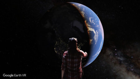 Google、Google EarthをVRで体験できる「Google Earth VR」をリリース