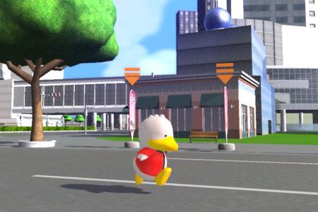 3D仮想空間「meet-me」、巣鴨地蔵通り商店街の公式イメージキャラクター「すがもん」とコラボ