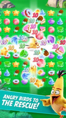 Rovio、映画「アングリーバード」のスマホ向けパズルゲーム「Angry Birds Match」を8/31にリリース