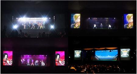 DMM VR THEATERにて「麦わらの一味 vs 海軍 vs 王下七武海 ホログラフィックバトルシアター アンコール in YOKOHAMA」が上映開始