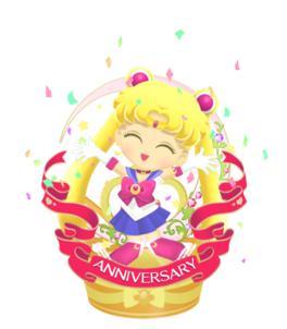 「セーラームーン」のスマホ向けパズルRPG「美少女戦士セーラームーン セーラームーンドロップス」、200万ダウンロードを突破