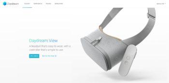 Google、スマホ対応のVRゴーグル「Daydream View」を11/10にリリース ただし日本は対象外