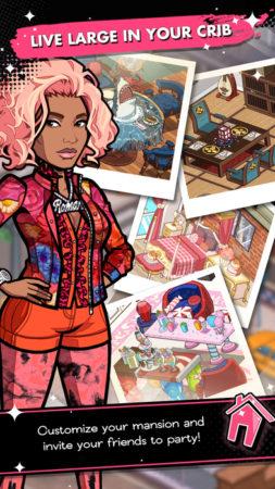 Glu Mobile、女性シンガーのニッキー・ミナージュのスマホゲーム「Nicki Minaj: The Empire」をリリース