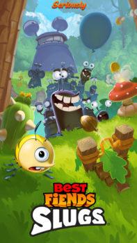 フィンランドのモバイルゲームディベロッパーのSeriously、「Best Fiends」シリーズの最新作「Best Fiends Slugs」をテスト配信
