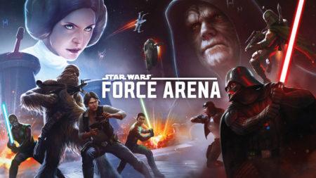 ネットマーブルジャパン、スター・ウォーズのスマホ向けリアルタイム対戦ゲーム「スター・ウォーズ:フォース・アリーナ」をリリース