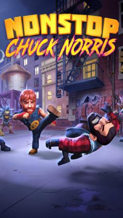 ドイツのFlaregames、チャック・ノリスのスマホゲーム「Nonstop Chuck Norris」のAndroid版の事前登録を受付中