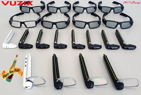 Vuzix、CES2017にスマートグラスやAR関連サービスを出展 ドローンのデモも実施