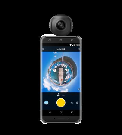 ハコスコ、Android対応の全天球ビデオカメラ「Insta360 Air」の販売を開始