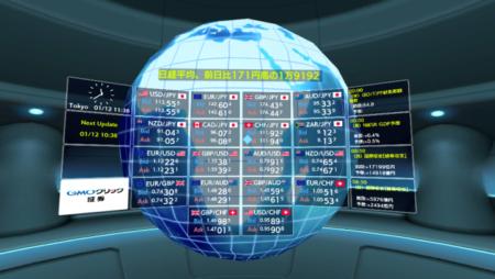 GMOクリック証券、スマホ用VRトレードアプリ「GMO-FX VRトレード」をリリース