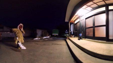 360度動画配信サービス「360Channel」、秋田県男鹿市の伝統行事「男鹿のナマハゲ」の360度動画を配信