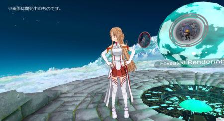 VR HMD開発のFOVE、アニメ「ソードアート・オンライン」のアスナがガイド役を務めるVRホームアプリを公開