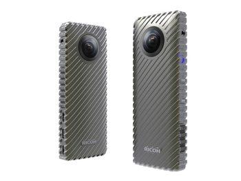 RICOH、CES2017にあわせ24時間駆動可能な360°カメラ「RICOH R Development Kit」を発表 CES会場からのライブ中継も実施