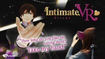 ボルテージ、VRアプリ「椅子ドンVR ~一ノ宮英介編~」の英語版「Intimate VR:Eisuke」をリリース