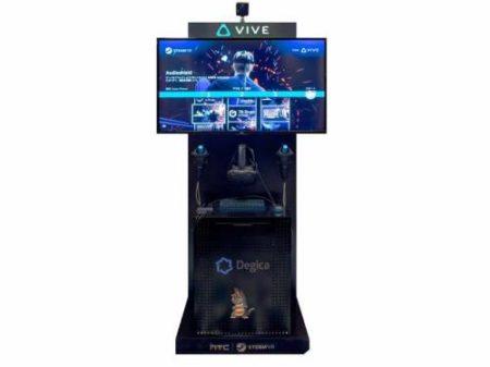 デジカ、二子玉川 蔦屋家電にHTC Viveのセルフ体験機「SteamVR セルフVRステーション」を設置