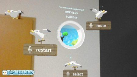 ViRD、英語を学べるHoloLens向けMRゲーム「ENGLISH BIRD」をリリース