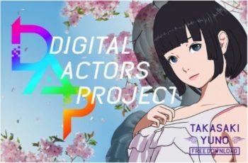 日本アニメのVRに特化した制作チーム「Gugenka」が始動 商用利用無料のデジタルアクターデータを配布