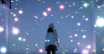 アイデアクラウド、VRとプロジェクションマッピングの技術を利用したアート作品「RELATIVITY / 相対性」を発表