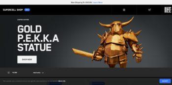 Supercell、自社ゲームの北米向けグッズ通販サイトをオープン