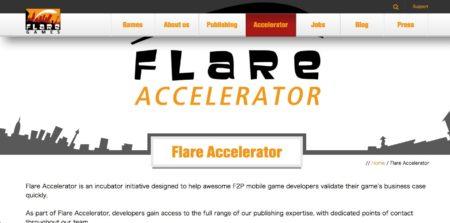 ドイツのモバイルゲームパブリッシャーのFlaregames、インキュベーションプログラム「Flare Accelerator」を開始