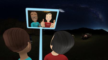 Facebook、開発者向けイベント「F8」にてOculus Rift向けソーシャルVRアプリ「Facebook Spaces Beta」を発表